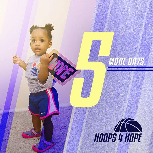 5 MORE DAYS! . We can't believe the tournament is this week! We have so many exciting things planned for the big day, it's not too late to register!  Basketball players (16+ Male & Female), beginner to advanced, are welcome to compete in order to raise awareness about Juvenile Dermatomyositis, and to keep Christiana Powery's memory alive! A portion of the benefits will go toward benefiting the Cure JM Foundation and AlsoTouch Foundation. _____ WHEN: Saturday, July 28th | 9am-3pm WHERE: Main Gym @ Baruch College | 55 Lexington Avenue, NY To register, and for more information, please visit www.hoopsforhopetournament.org
