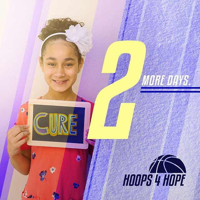 TWO MORE DAYS! . Can you believe we're less than 48 hours away from the biggest 3v3 tournament of the year?! Meet us on the court on Saturday, whether you're playing, cheering, eating or playing games! Don't forget, registration closes TOMORROW at noon; but we have an exciting halftime show that you can sign up to be apart of Saturday morning if you miss the deadline!  See you Saturday! _____ WHEN: Saturday, July 28th | 9am-3pm WHERE: Main Gym @ Baruch College | 55 Lexington Avenue, NY To register, and for more information, please visit www.hoopsforhopetournament.org