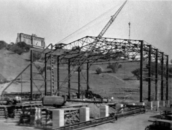 Stage 28 under construction