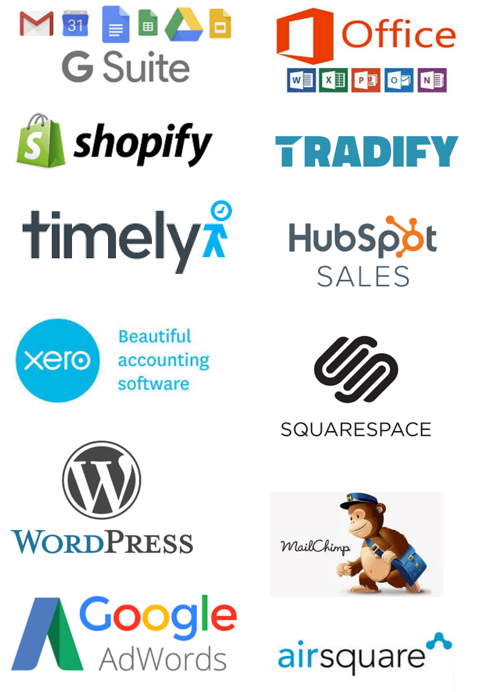 A selection of apps to super-charge your business.