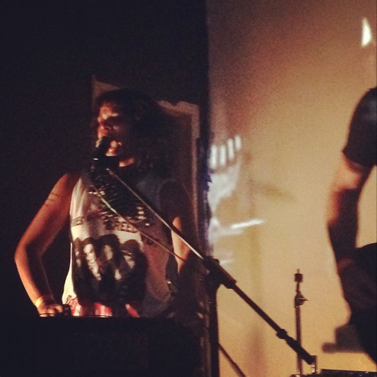 Shilpa Ray performing at Palisades