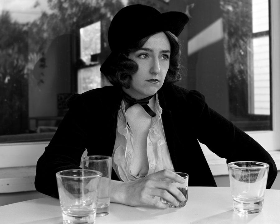 As Greta Garbo in 'Anna Christie'