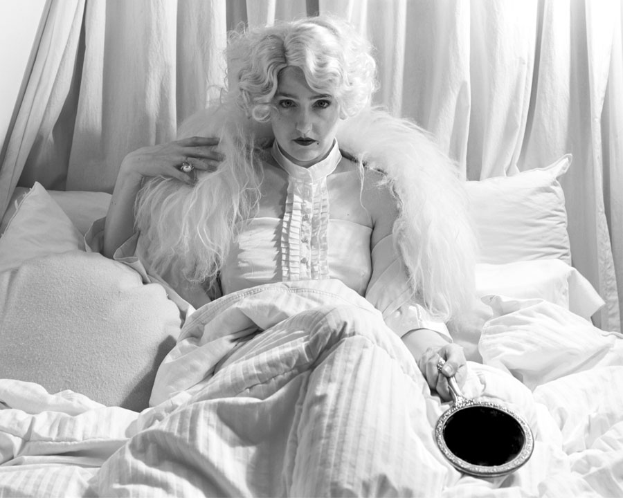 As Jean Harlow in 'Dinner at Eight'