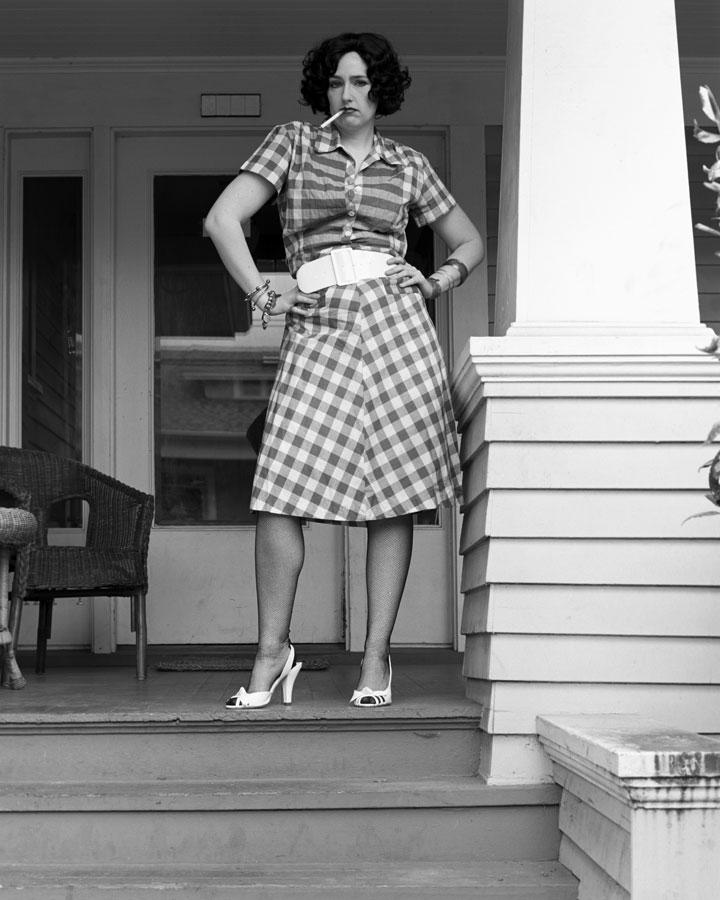 As Joan Crawford in 'Rain'