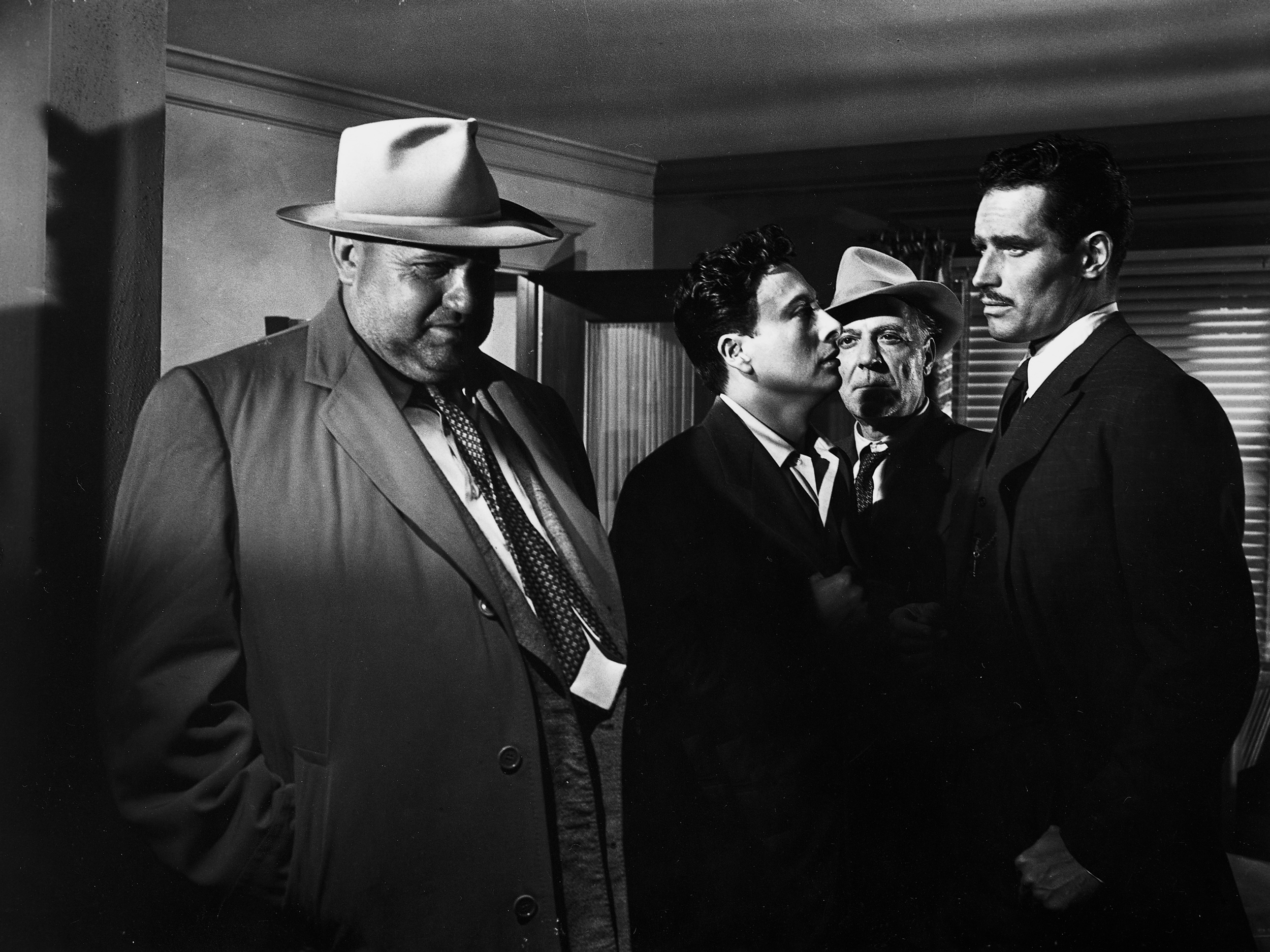 Touch of Evil . Law man or criminal?
