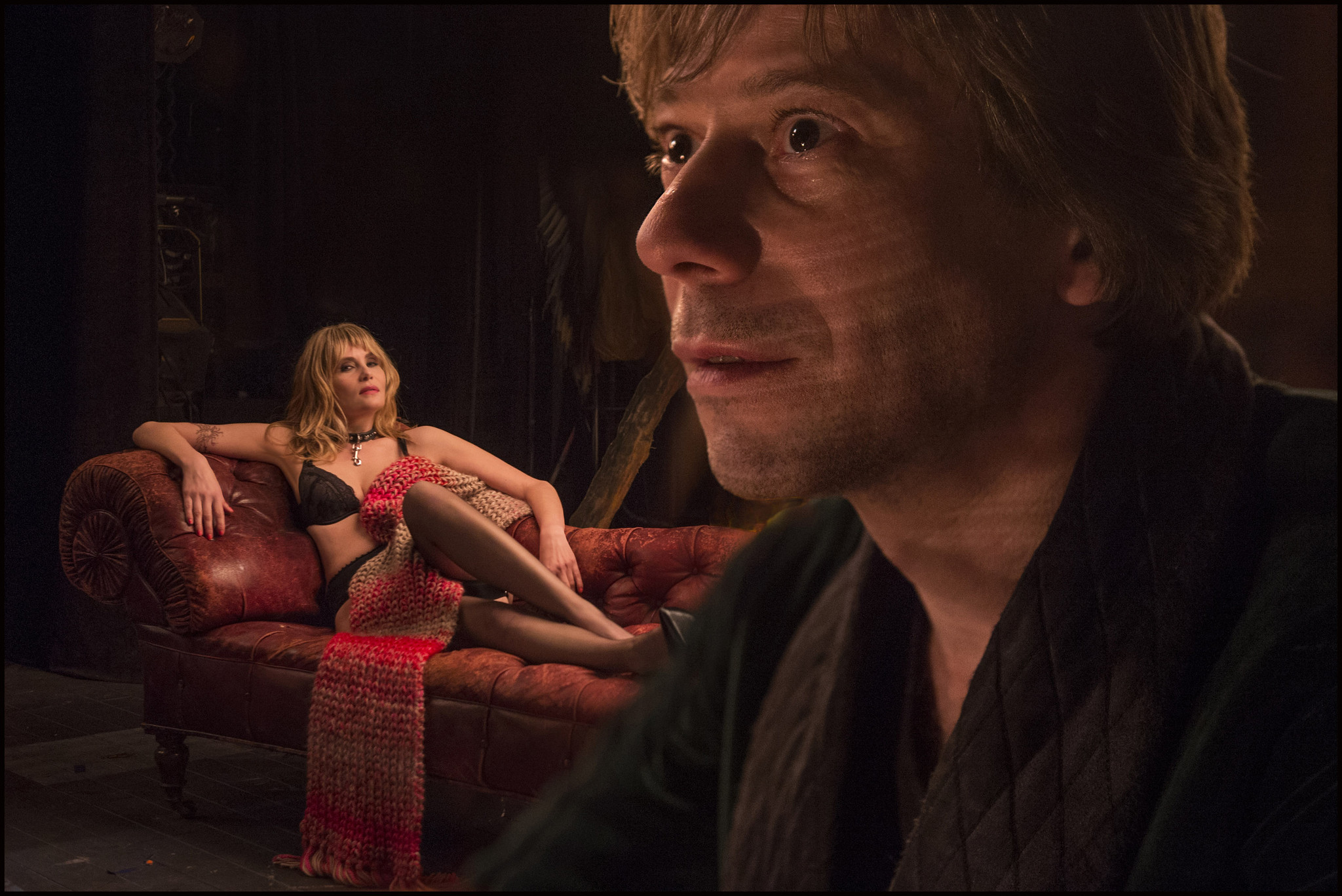 Vanda (Emmanuelle Seigner) and Thomas (Mathieu Amalric)