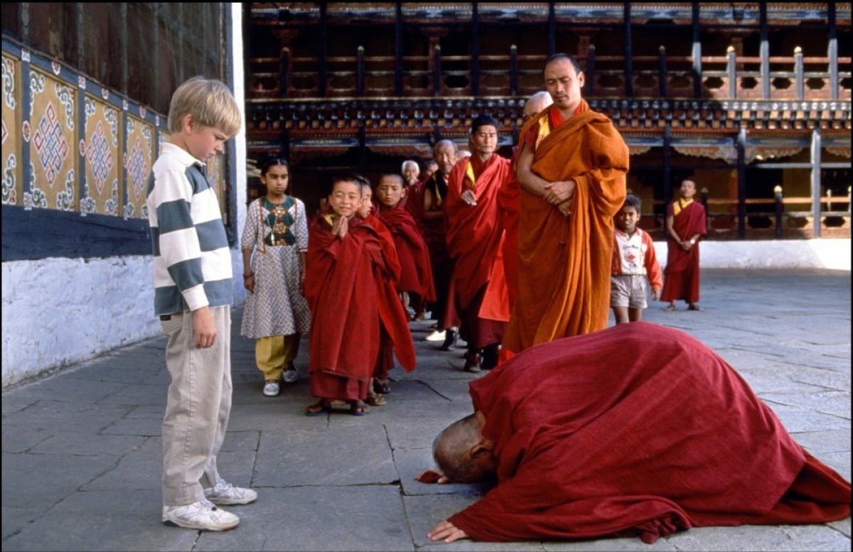 Little Buddha (Eric Wiesendanger) adjusting to his new world
