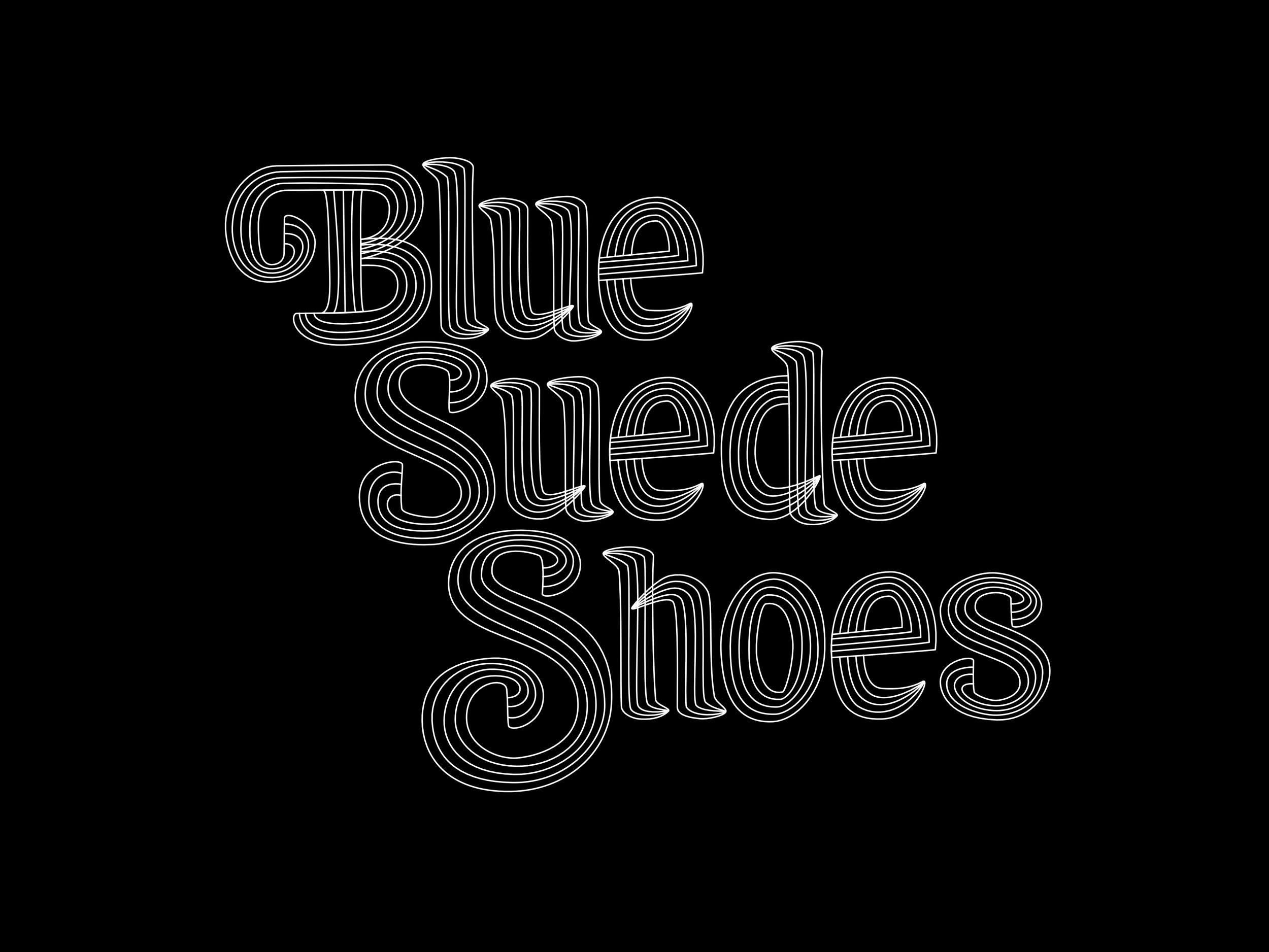 blue suede shoes vector - bw.jpg