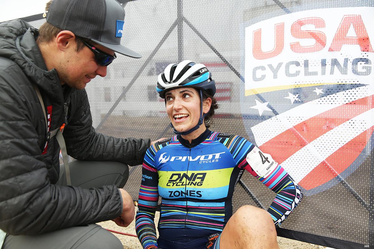 "The ""I did it"" face to Chris. Photo:Cathy Fegan-Kim"