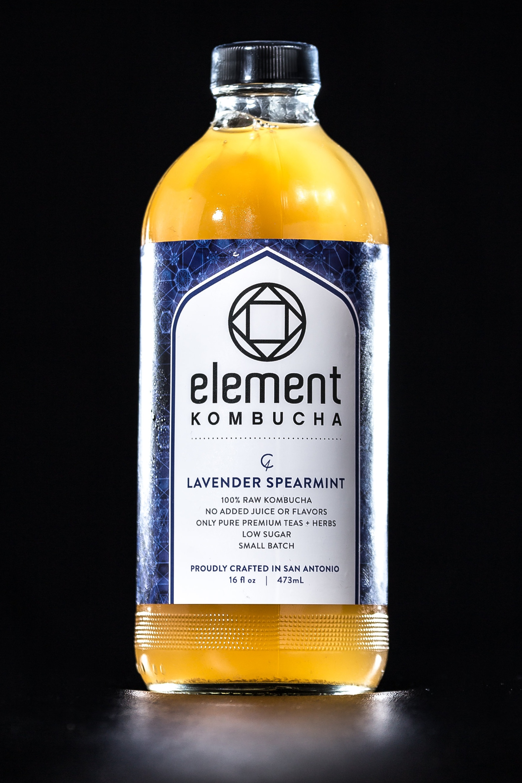 Element Kombucha Lavender Spearmint