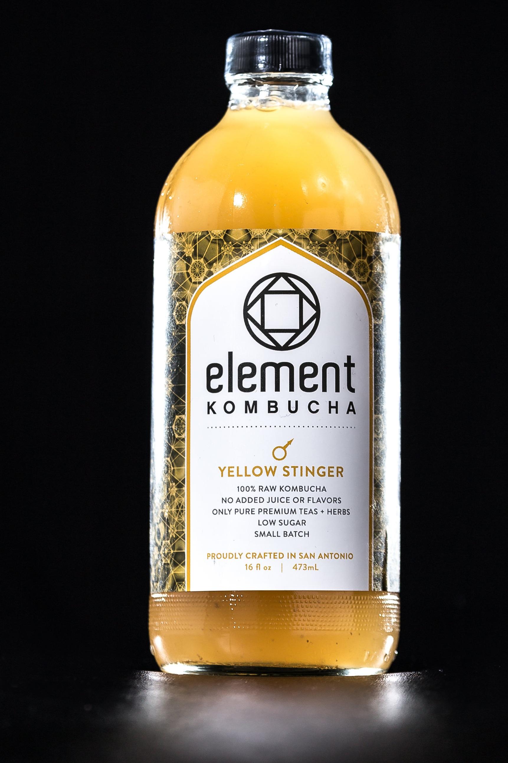 Element Kombucha Yellow Stinger