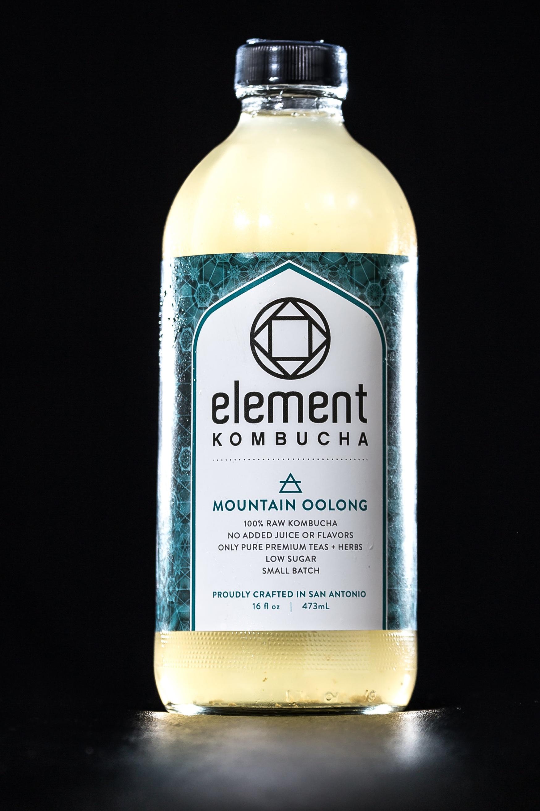 Element Kombucha Mountain oolong