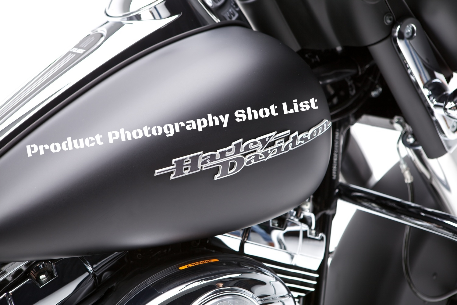 Product Photography Harley