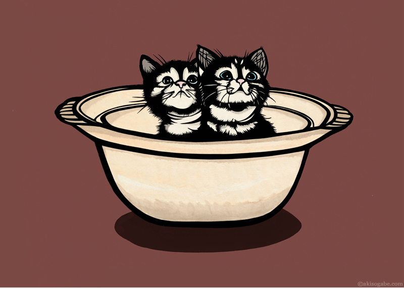 Kittens in a Clay Pot.jpg