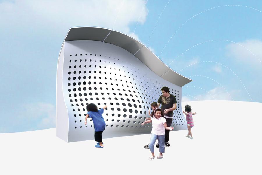 Urban Chill Stop — Interactive Installation