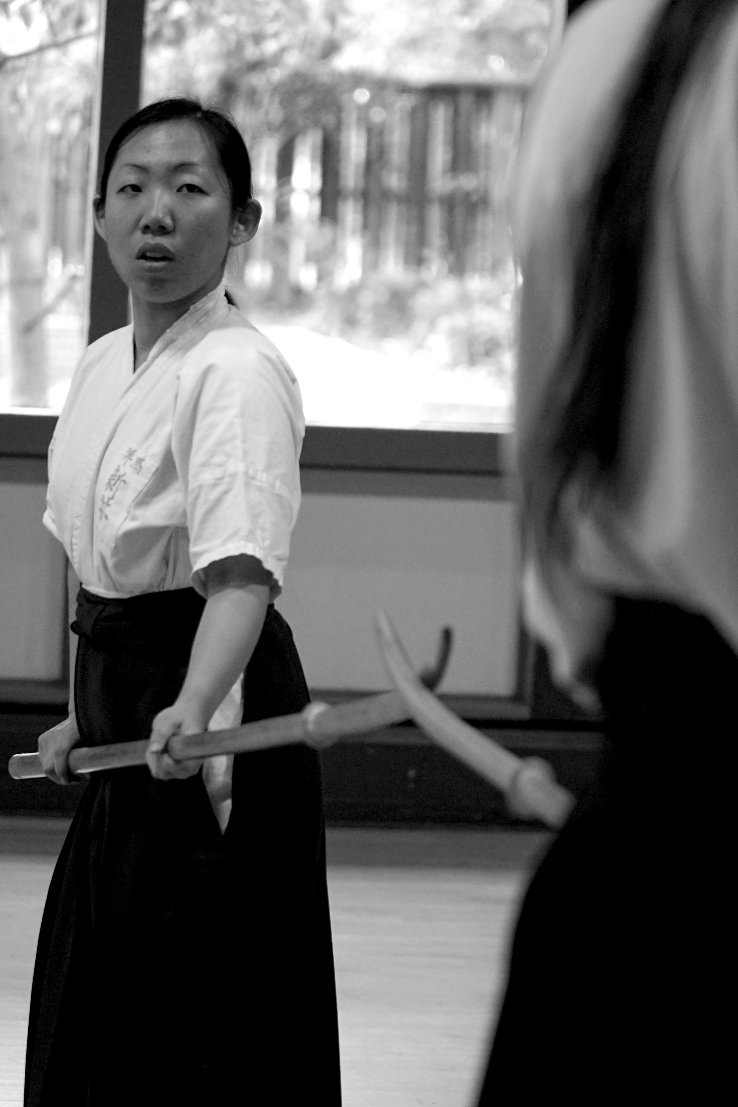 Mayo Arai performs Zen Nihon Kata at the 2014 Fall Seminar