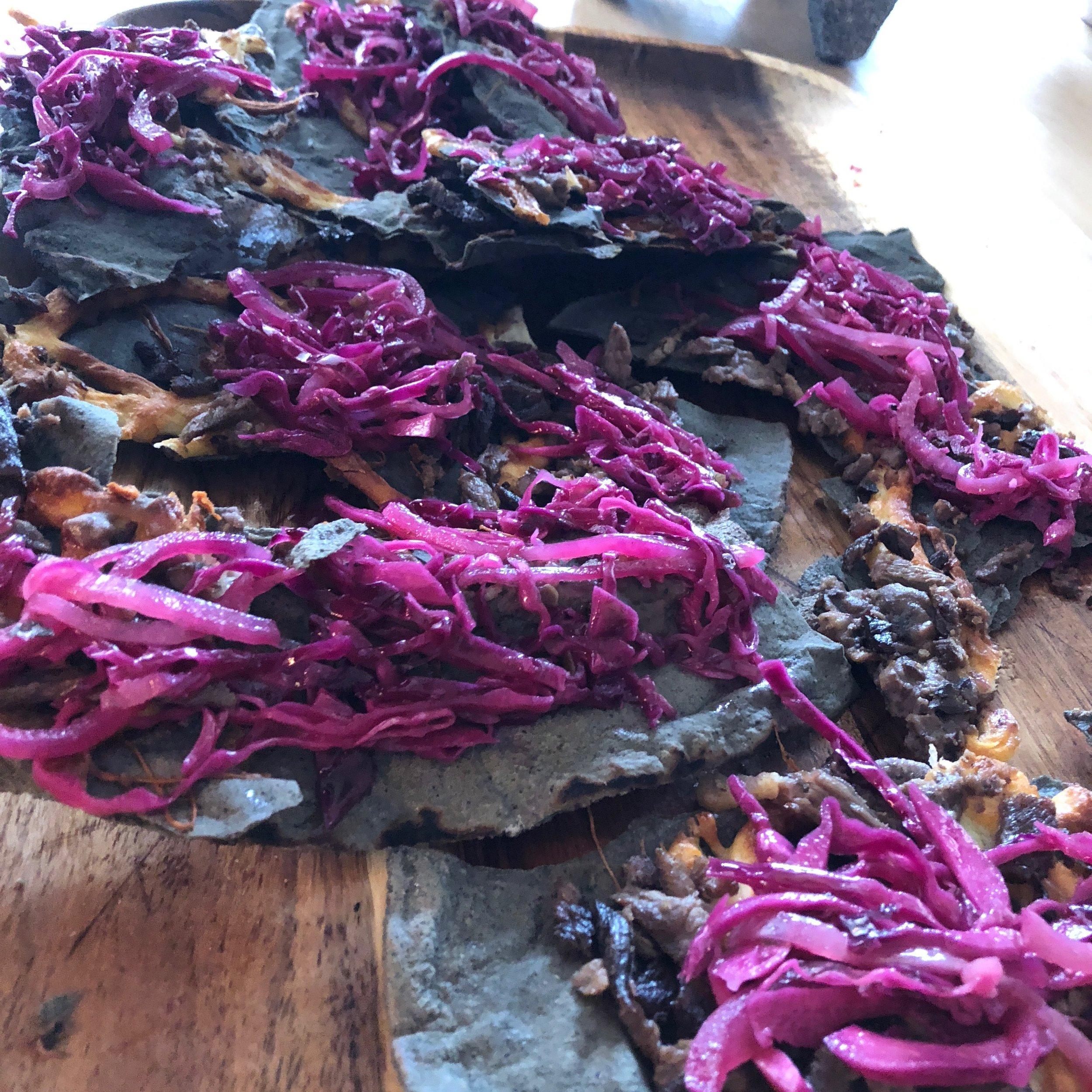 chef hector guerrero feastly mexican street food brunch tlayuda oaxaca