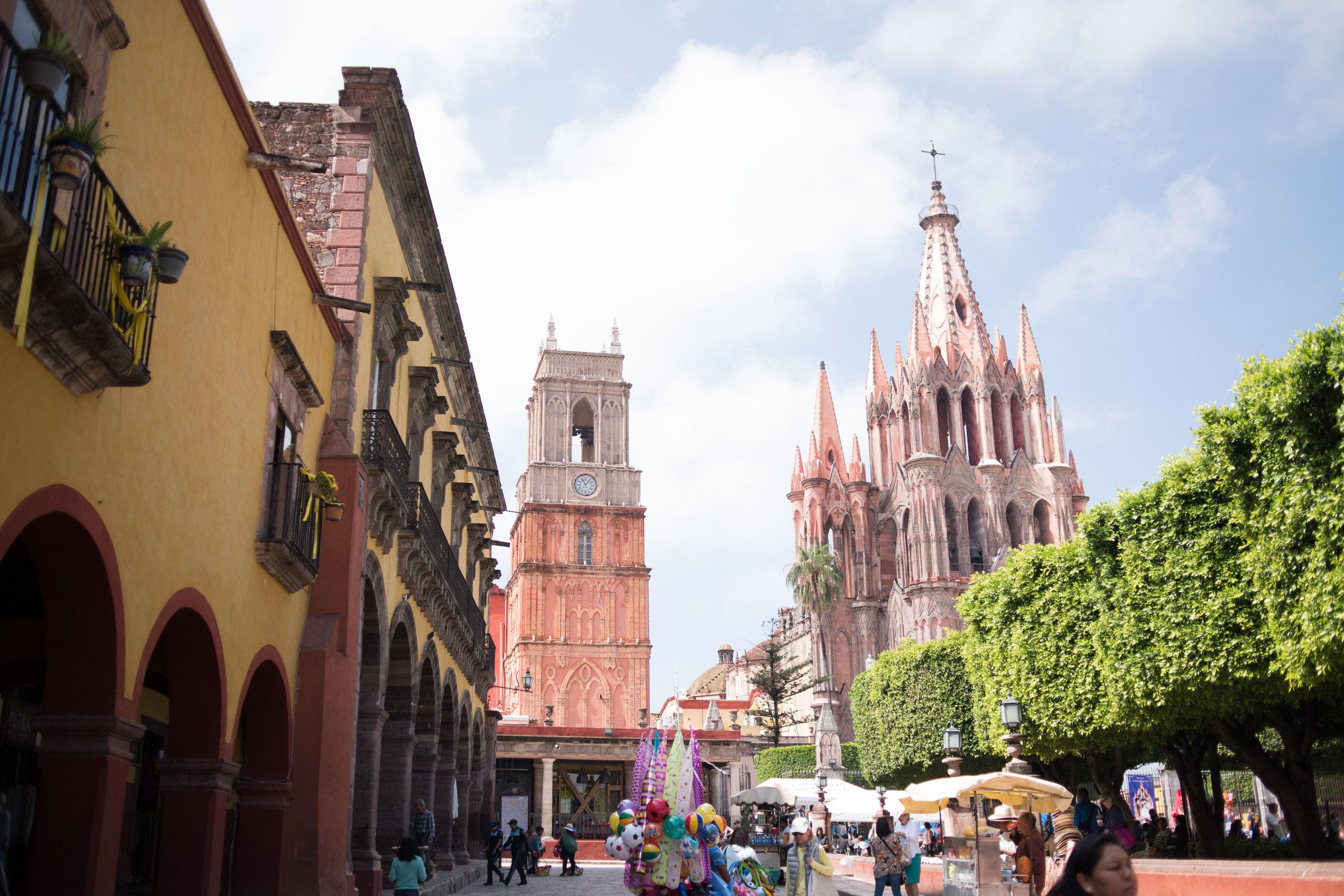La Parroquia San Miguel de Allende Guanajuato Mexico