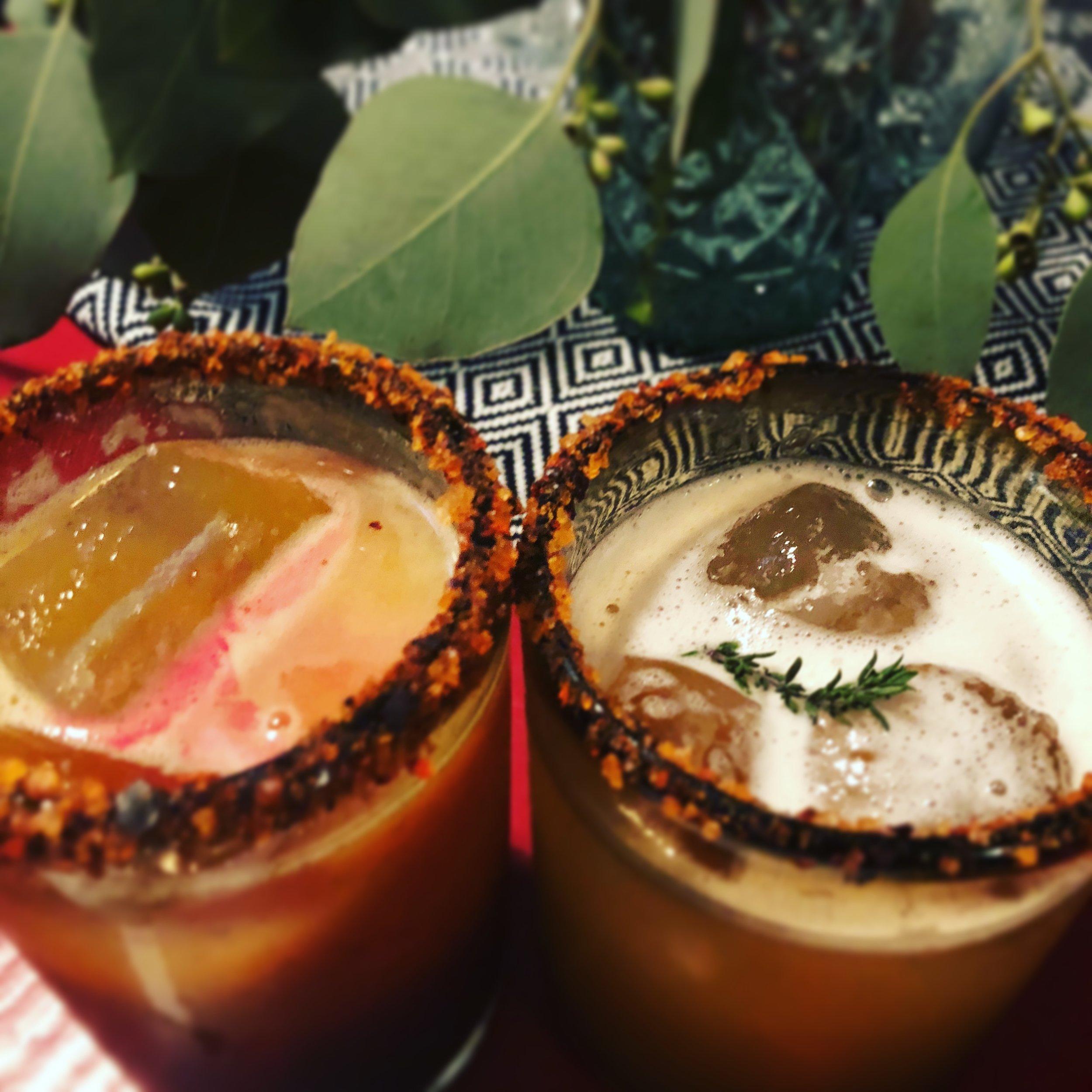 cocktails donaji and paloma