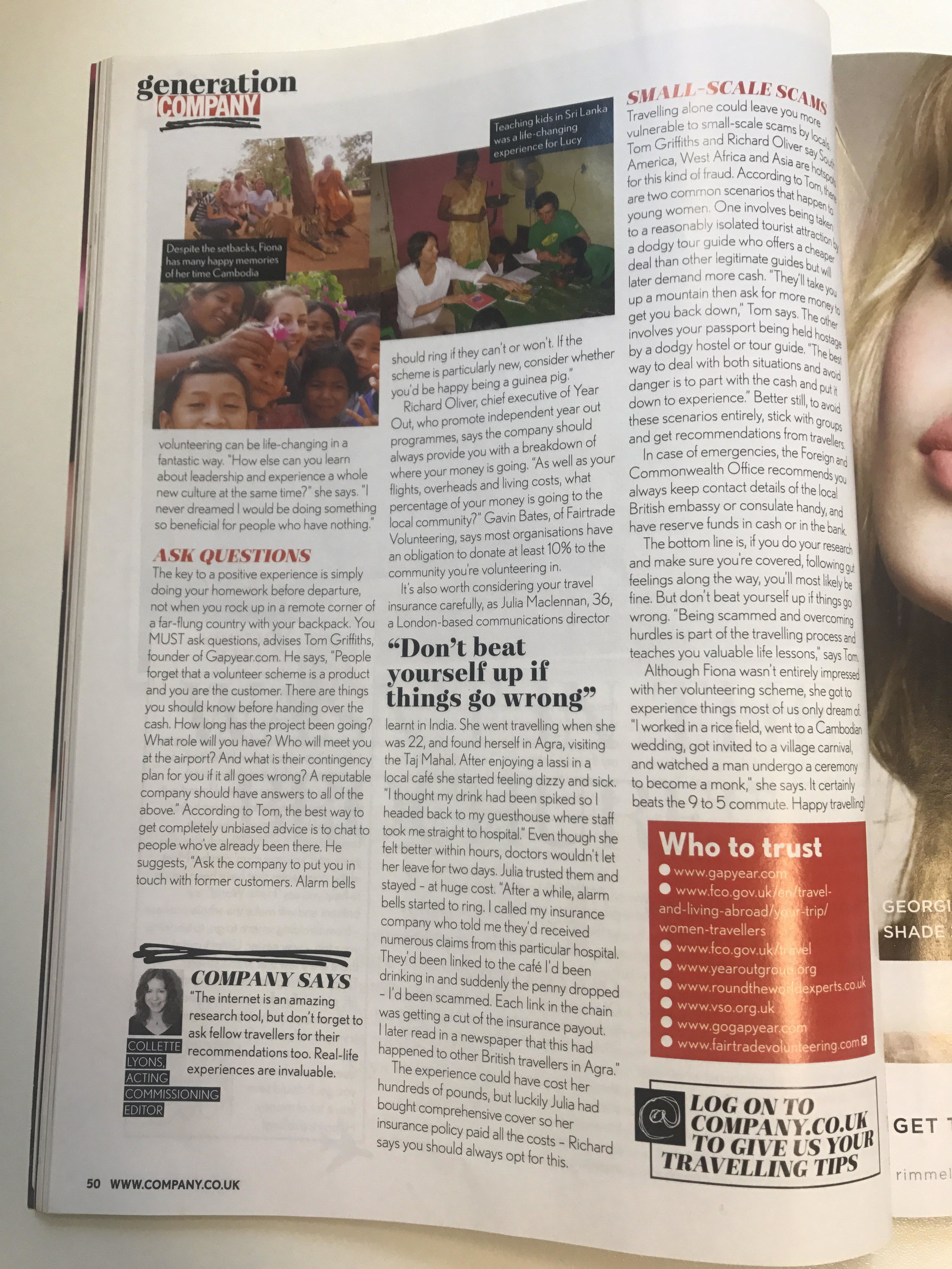 slv global company magazine