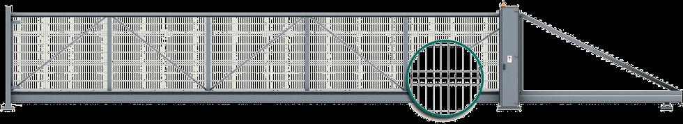 Welded mesh infill design