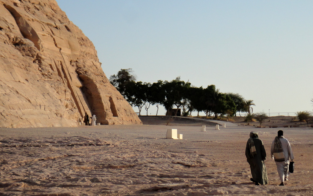 Nubians outside