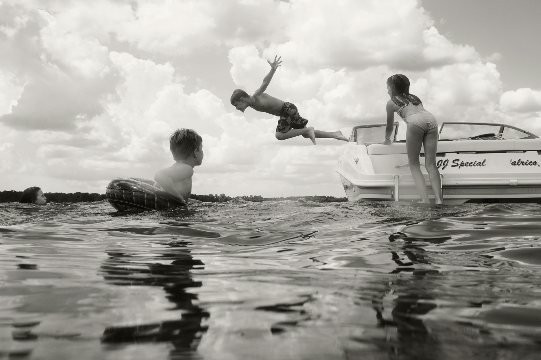 Jump, Lake Homosassa, 2013