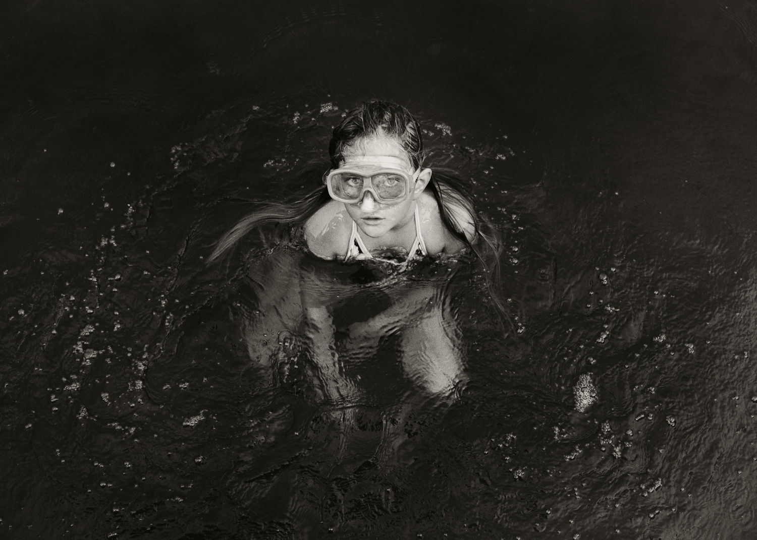 Ellie with Goggles, Battle Creek, 2012