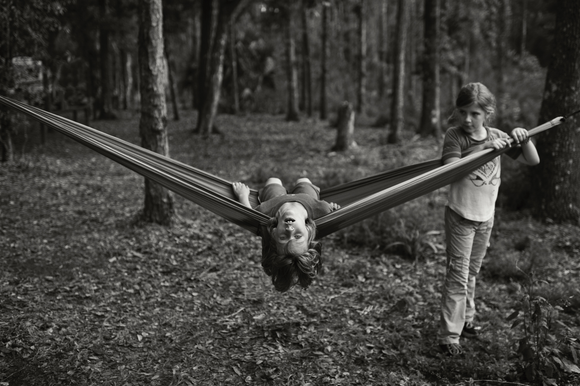 Sky and Ryder on Hammock, Florida, 2012