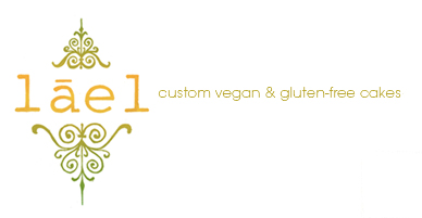Lael Cakes . NY based boutique cake studio specializing in vegan, dairy-free and gluten-free cakes