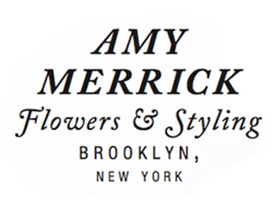 Amy Merrick  is a wonderful flower designer, who happens to have a keen eye for styling.