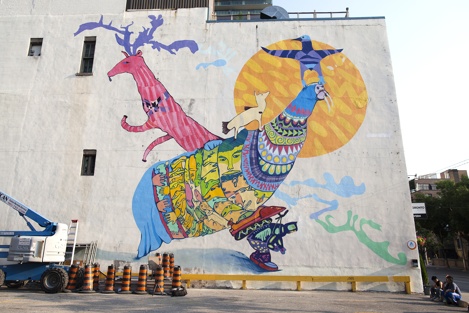 Photo by Tobin Grimshaw, The final mural complete!