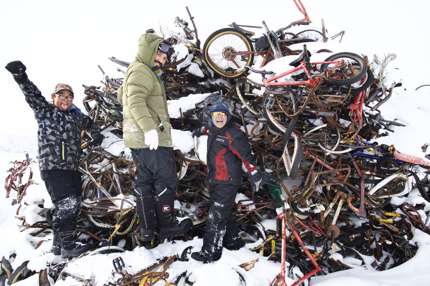 """It all started with finding materials at """"Canadian Tire"""" aka The Dump."""