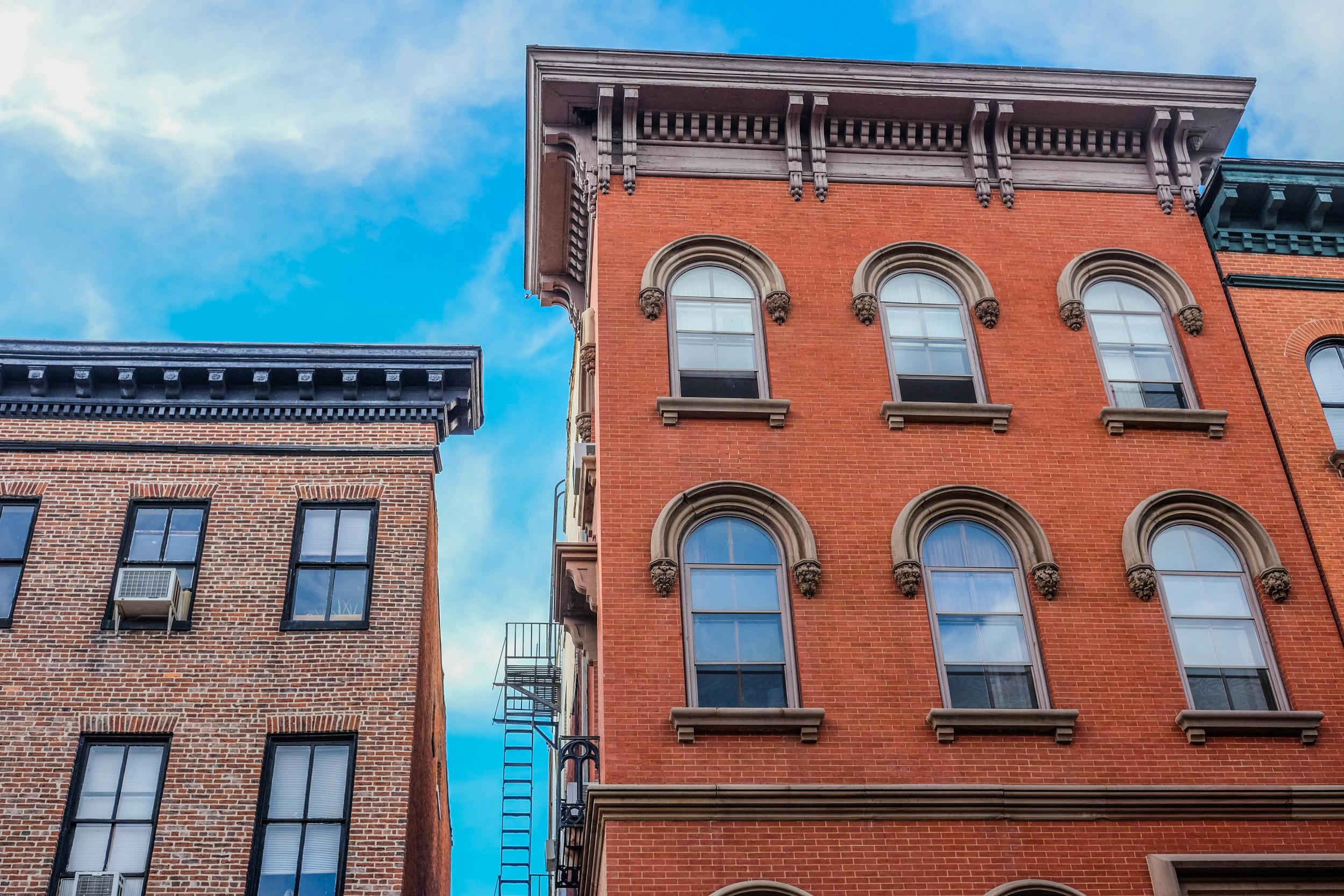 St Paul Street, Baltimore. Photo by Derek Vaughan Brown.