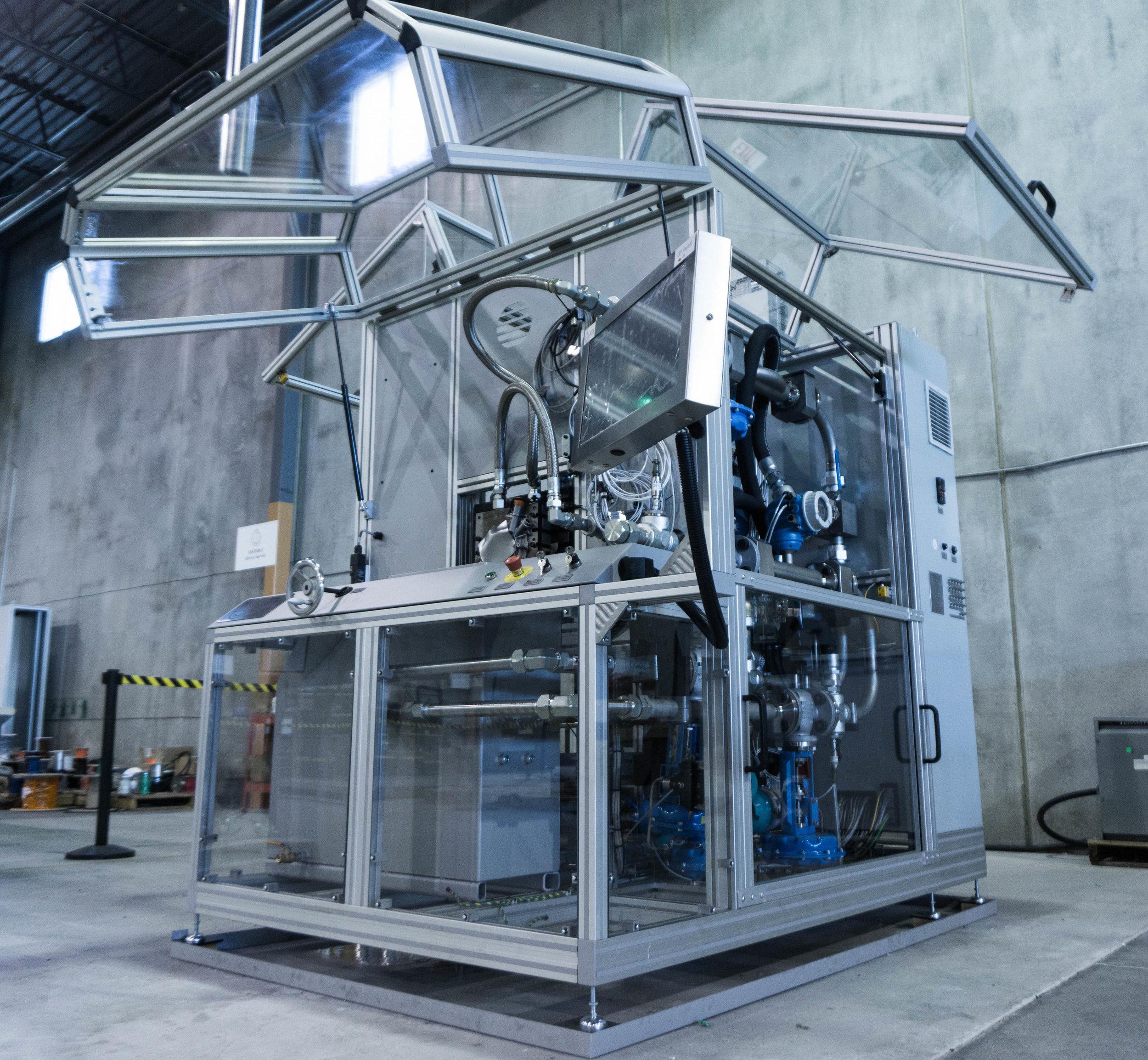 机械油泵试验台