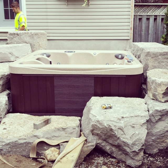 Fits like a glove! #percision #landscaping  #hardscaping