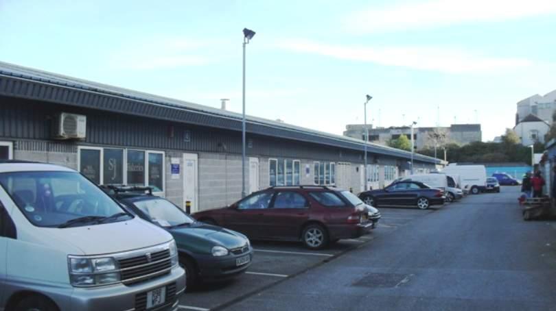 Car parking atPlymouth Fisheries