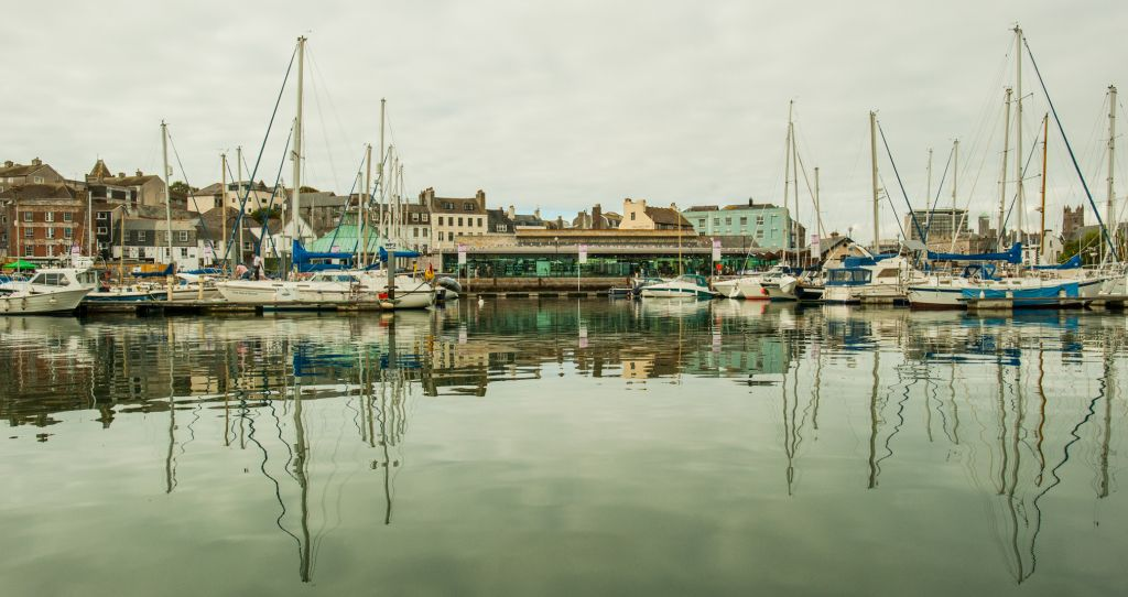 A view of the Harbour - Plymouth Fisheries