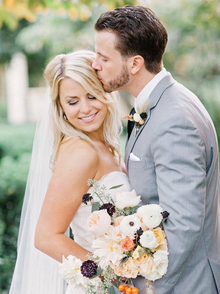 Bride Hair & Makeup:  Jaime Marsau