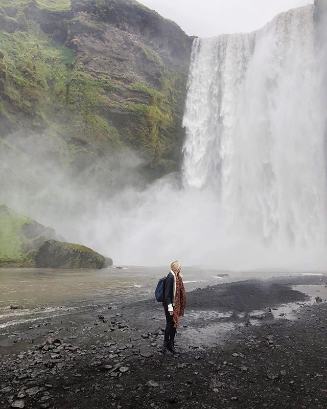 Our 1st day in Iceland 🇮🇸 we had 18hrs of daylight to capitalize on during exploration. We went until we couldn't go anymore and it was epic! . . #iceland #skogafoss #skogafosswaterfall #travelgram #vacationvibes #icelandtravel #amazingviews #travelbug #wanderlust #beachestraveler #dametraveler #femmetravel #theglobalwanderer #radgirlslife #passionpassort #travelawesome #wearetravelgirls #wonderful_places #iamtb #discoverearth