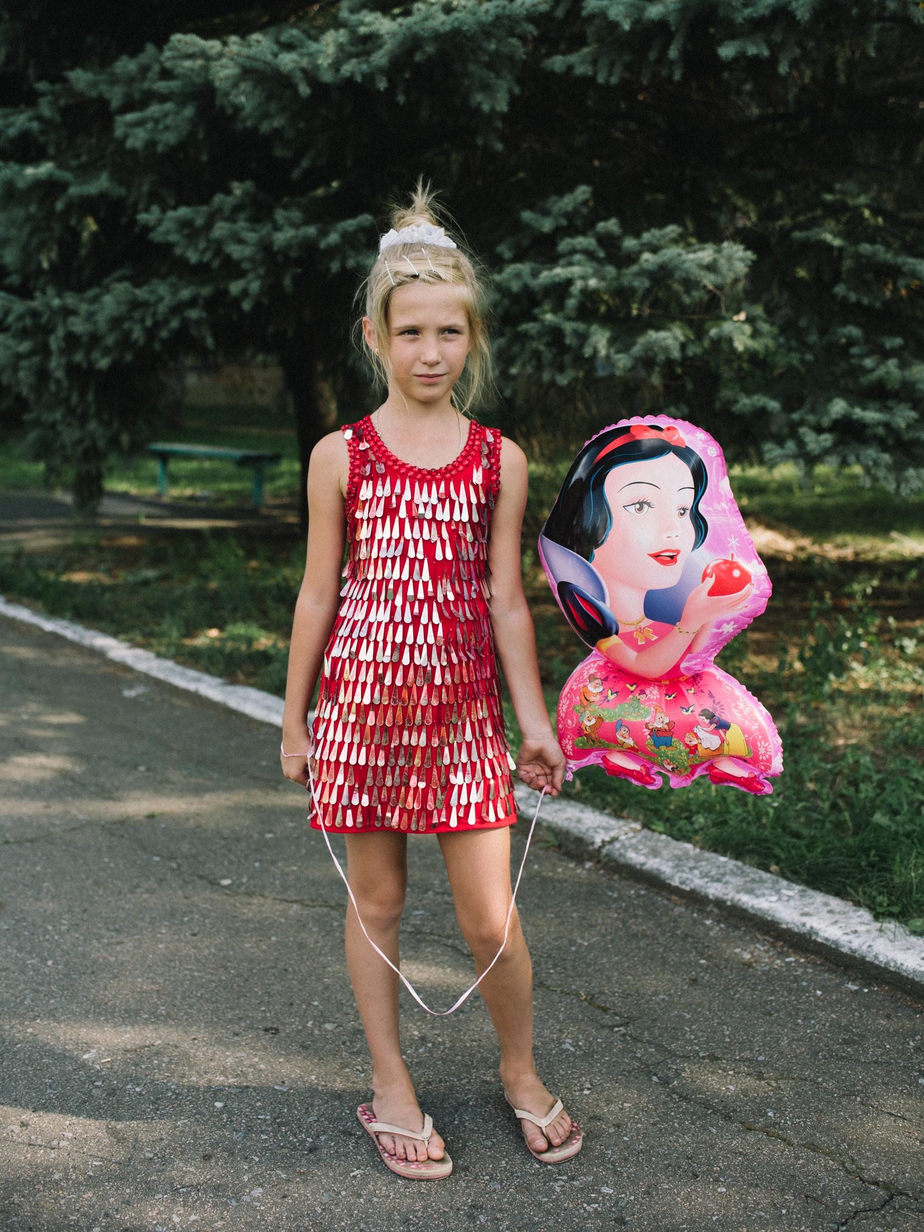 Sofia, Svitlodarsk, Donetsk Oblast, Ukraine 2016