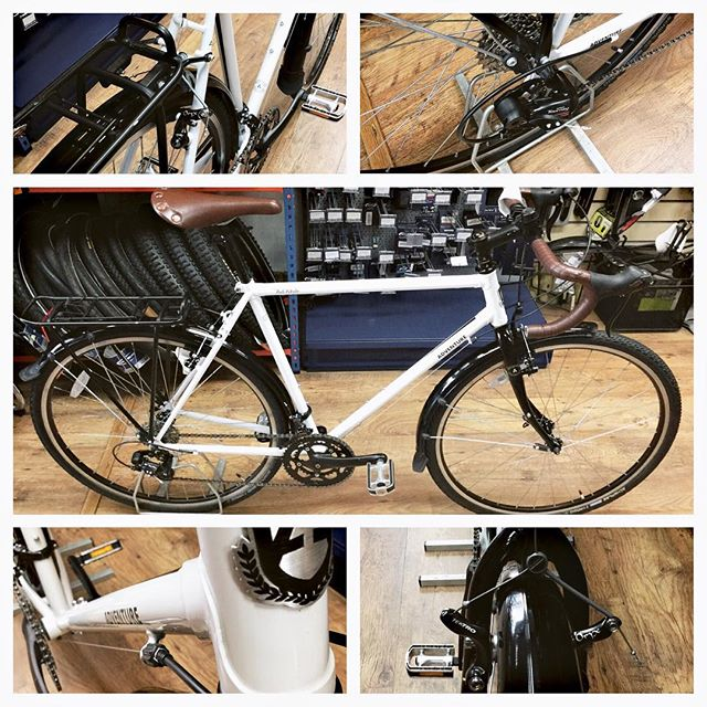 The workshop in #Tooting is busy again today with the first Gold service finished already. Looking good riding great! #pro #cytech #mechanic