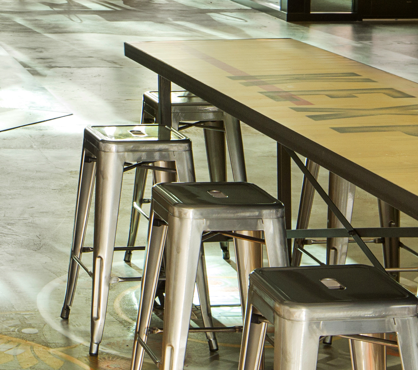 gym floor tableS - 90.3 KEXP FM