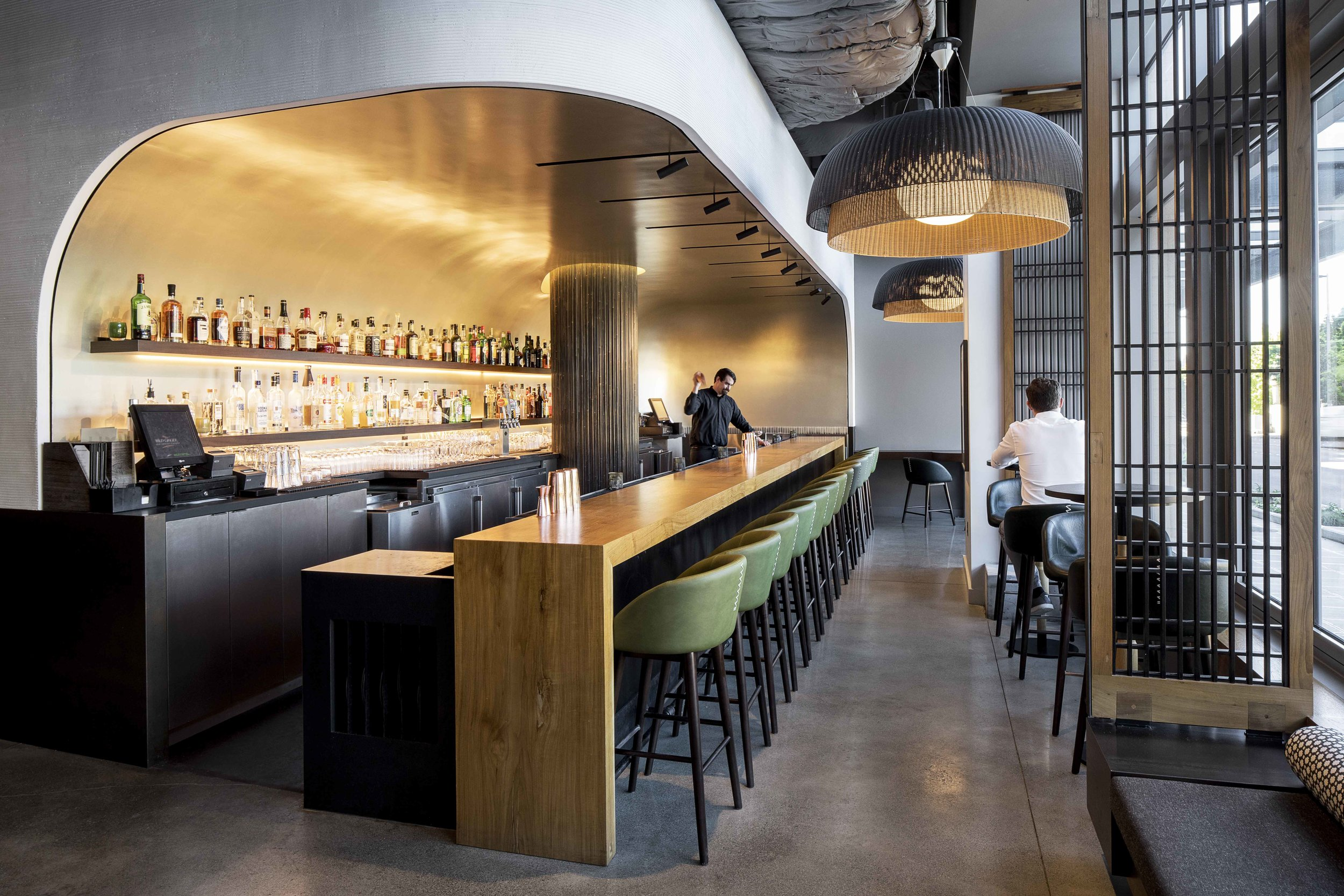 bar stools  - WILD GINGER bellevue