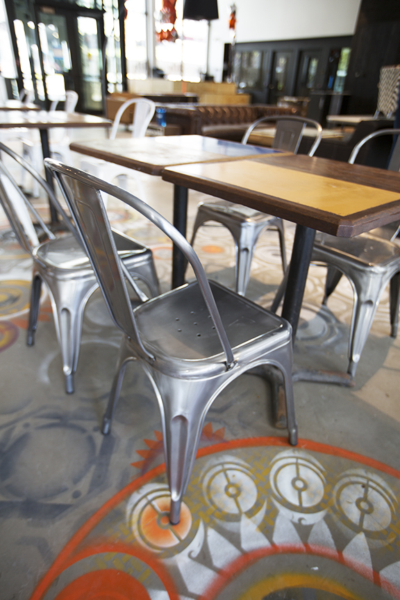 floor detail - 90.3 kexp fm