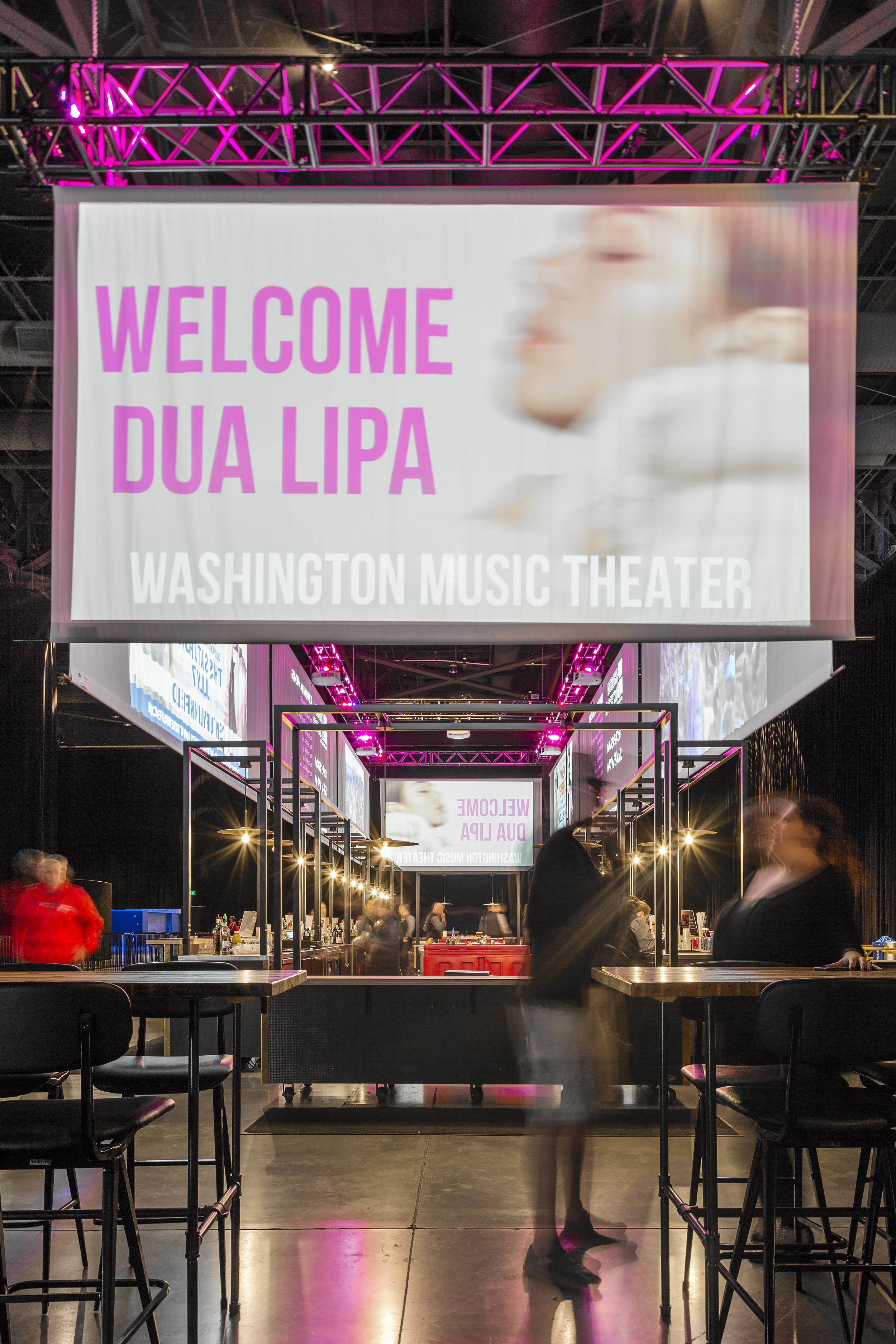 wamu theater: bar and green room