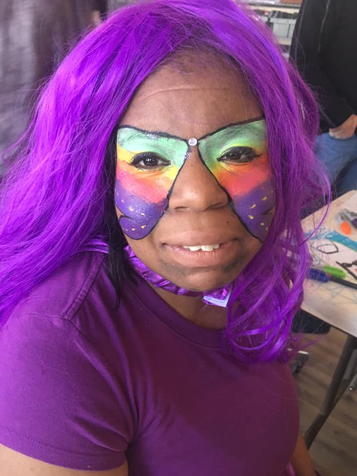 Toica Parker as The Flying Purple People Eater