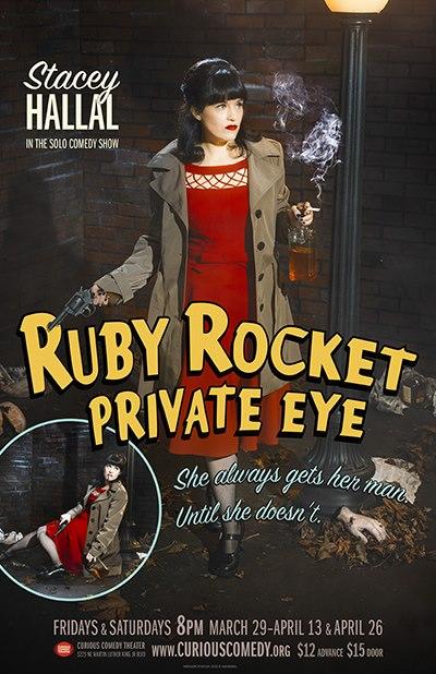 Ruby Rocket Private Eye