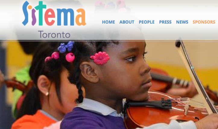 SISTEMA TORONTO - a social development program that brings music to public schools