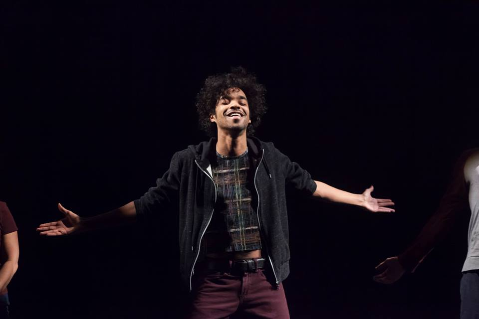 """TOWARDS YOUTH - """"Actor Emilio Vieira, Kushnir's alter-ego in Towards Youth, retells this journey into documentary theatre as one that began out of artistic guilt and continued out of what he discovered to be """"a low-grade fear of young people."""" This moment is heightened by Deanna H. Choi's sound design and an ensemble of snarling, beastlike actors swarming around Vieira"""" —Toronto Star""""And then the audience got the chance to fly around the world and enter foreign classrooms. Amelia Scott's visual and Deanna Choi's sound designs definitely led me from one part of the globe to another, and I bought the fact that I entered another world."""" —Joe Szekeres"""